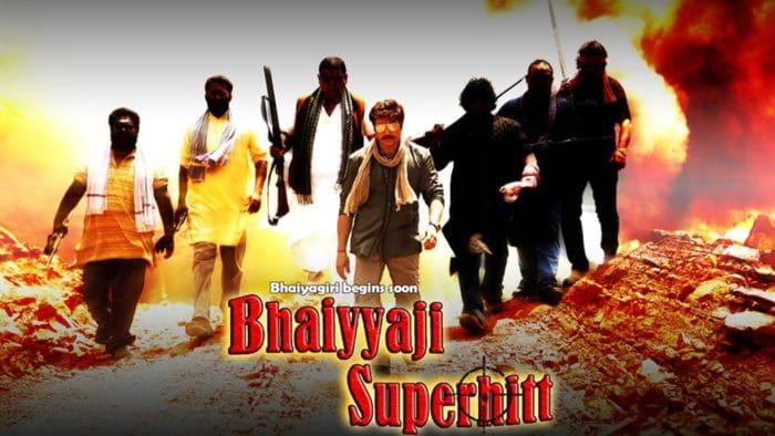 Bhaiyyaji Superhit Box Office Collection