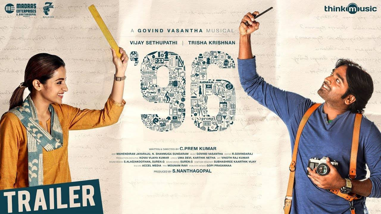 96 Full Movie Download Featuring Vijay Sethupathi and Trisha Krishnan Leaks on TamilRockers, Madrasrockers, TamilGun, KuttyMovies