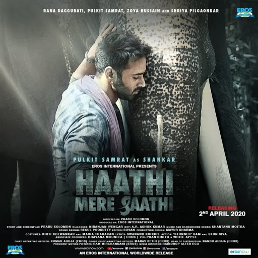 Haathi Mere Saathi Full Movie leaked by FilmyZilla
