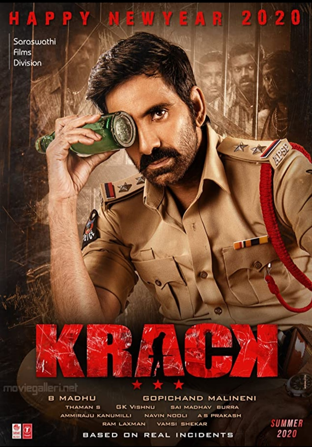 Krack Full Movie Download Leaked By Tamilrockers