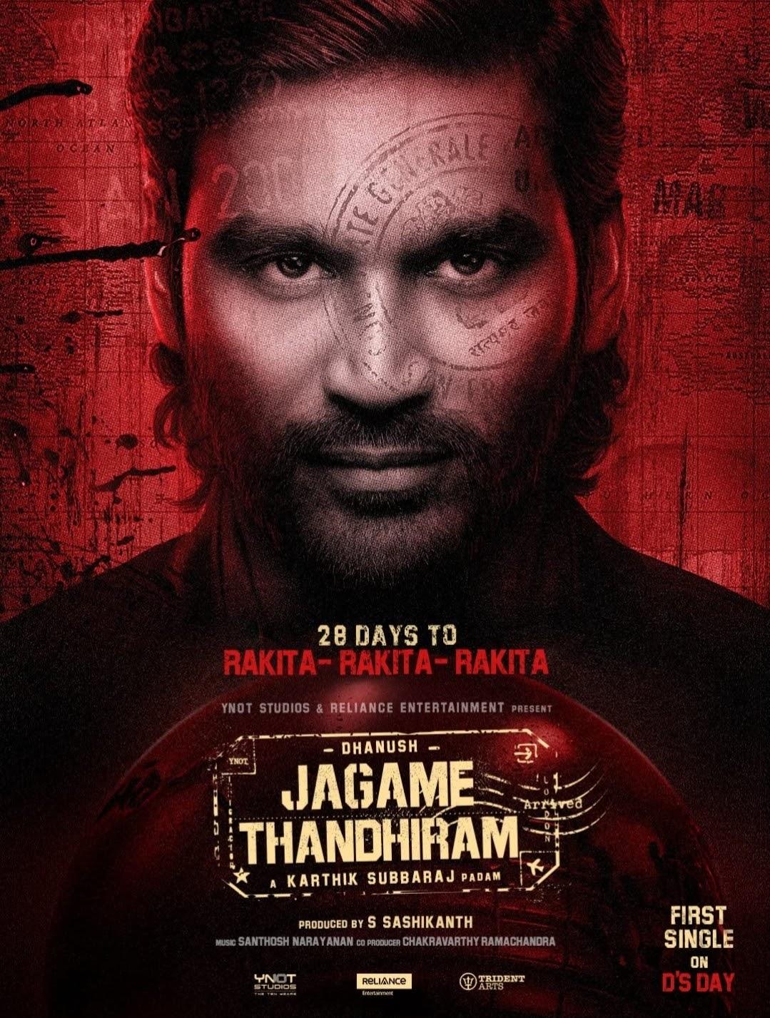 Jagame Thanthiram Full Movie Leaked
