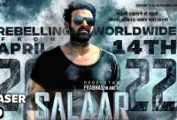 Prabhas Upcoming Salaar Movie Cast and Crew and Release Date Information